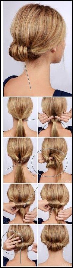 18 Hochsteckfrisuren Kurze Haare Selber Machen | Bob Frisuren … – Frisuren Damen