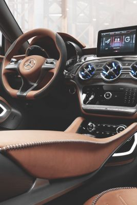 not a huge fan of modern mercedes but this interior looks stunning