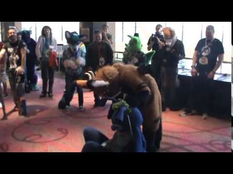 Furry Fiesta 2014 - Telephone being adorable! - YouTube
