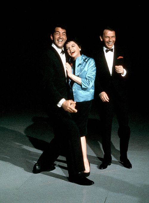 Dean, Judy, and Frank on The Judy Garland Show, 1962