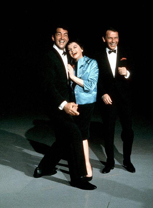 Dean Martin , Judy Garland and Frank Sinatra on The Judy Garland Show, 1962