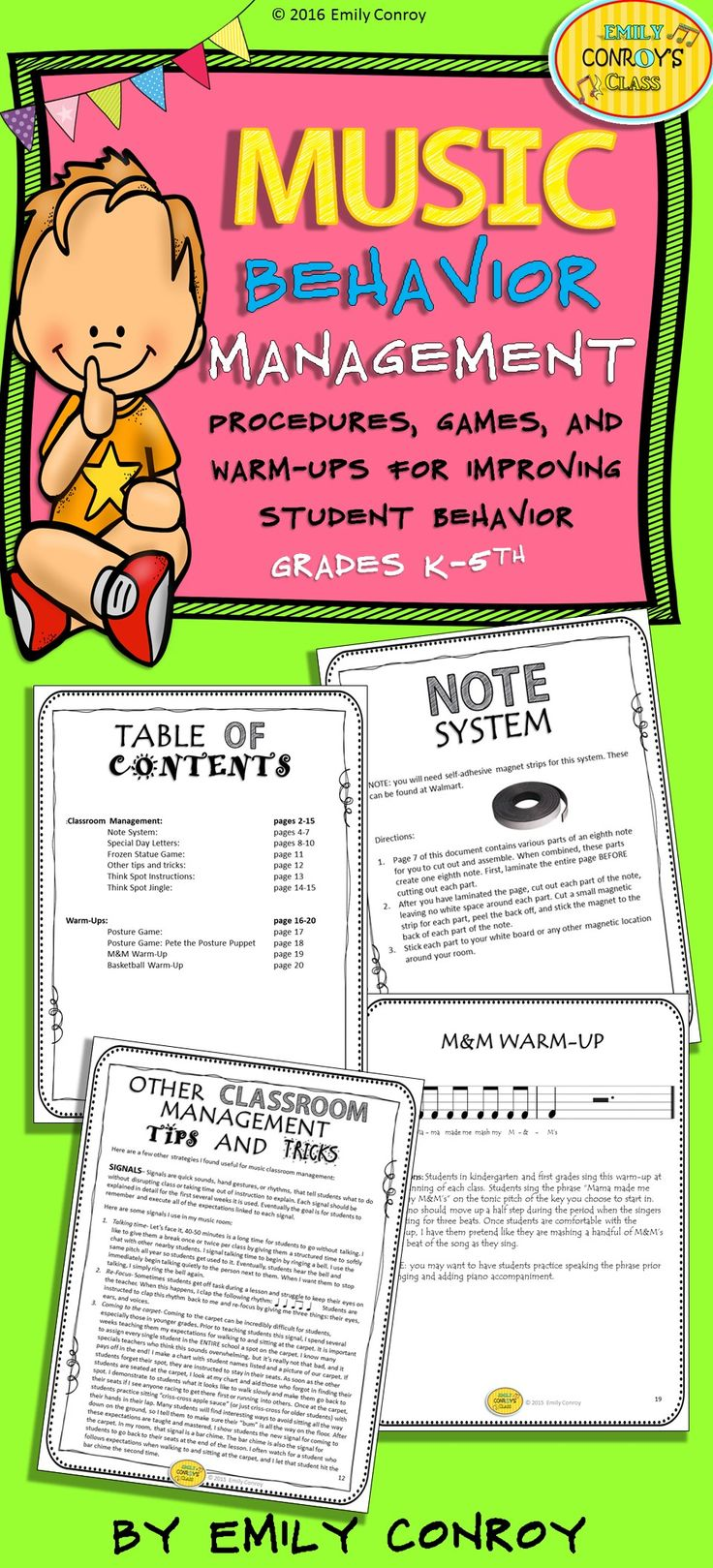 Elementary Classroom Management Techniques ~ Best images about music classroom management or
