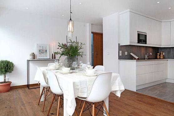 Revestimiento oscuro cocina primer piso con terraza piso for Decoracion terraza piso bajo
