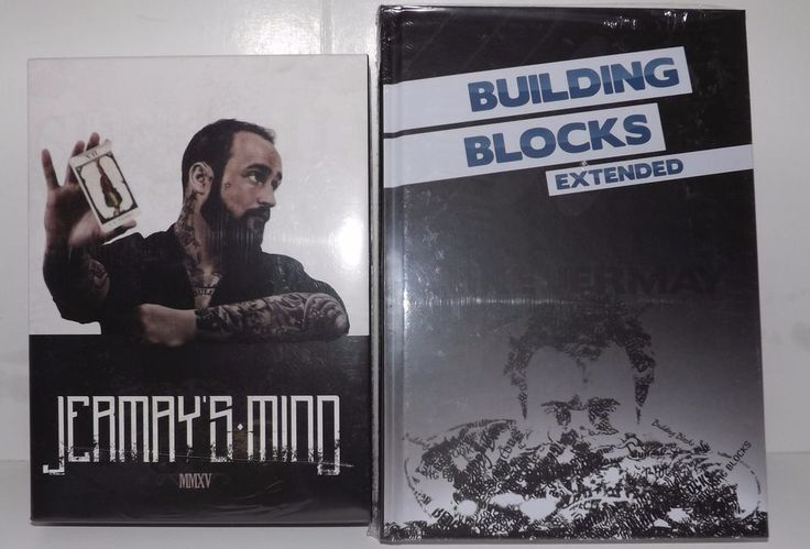 Building Blocks Extended AND Jermay's Mind (4 DVD Set) by Luke Jermay