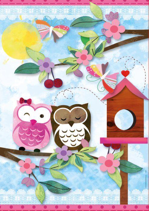 EDUCA Scrap puzzle: Valentýn 500 dílků