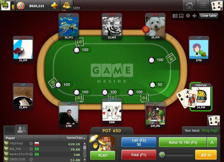 Poker Texas Holdem – Play online for free and feel the card rush!