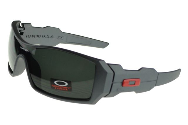 Oakley Oil Rig Sunglasses black Frame black Lens : oakley outlet, your description $17.86