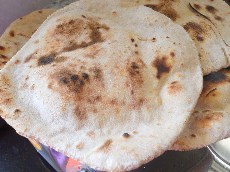 Tandoori roti recipe; tandoori roti on stove top with step by step recipes   Tandoori Roti speaks of dhaba food  and is a healthy India...