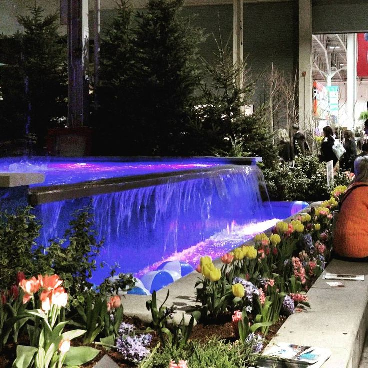 "NewCa.com: 2016 Canada Blooms. Aquaspapools. ""Let's Party"" is a featured garden by Royal Stone Landscaping & Design and Aquaspa Pools Landscape & Design.  @royalstoneltd  @aquaspapools #AquaSpa Pools"