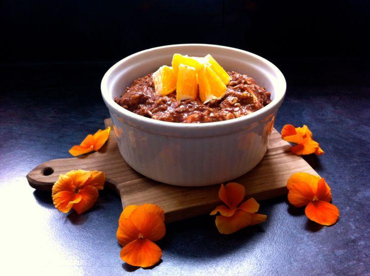 Dark Chocolate OrangePorridge