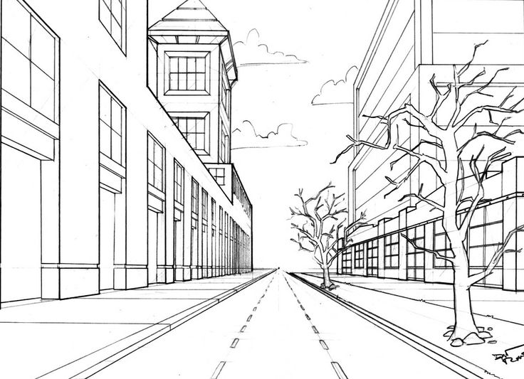 The Street Scene Perspective Pinterest Scene Street