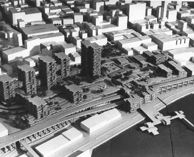 Proposed Pike Place Market redevelopment, 1968