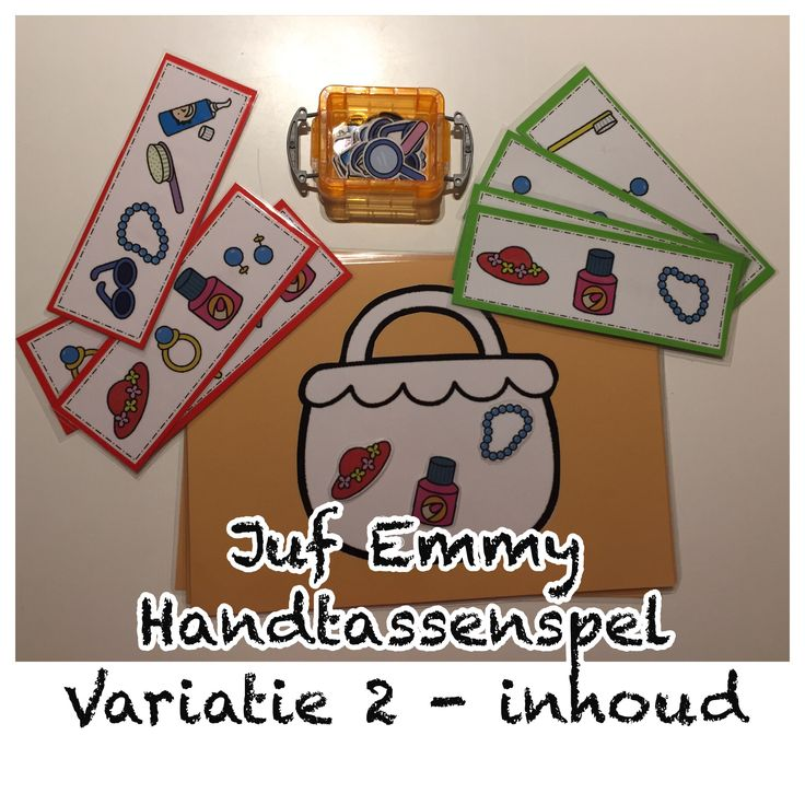 Juf Emmy ❤️ Handtassenspel variaties 2/3