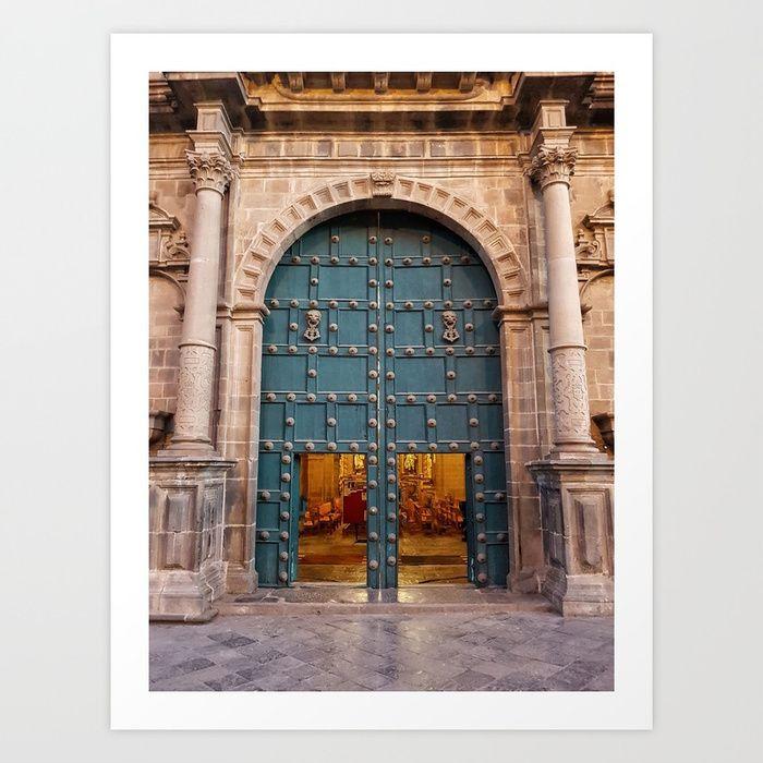 Faith Opens Doors Art Print