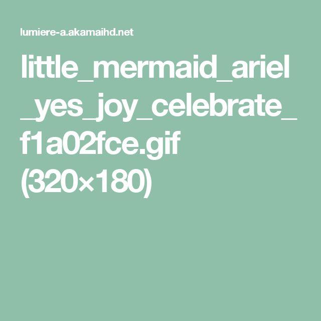 little_mermaid_ariel_yes_joy_celebrate_f1a02fce.gif (320×180)