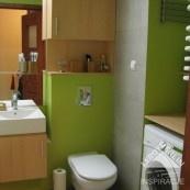 łazienka szaro-zielona