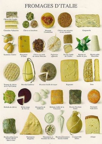 Quesos Italianos / Italian Cheese