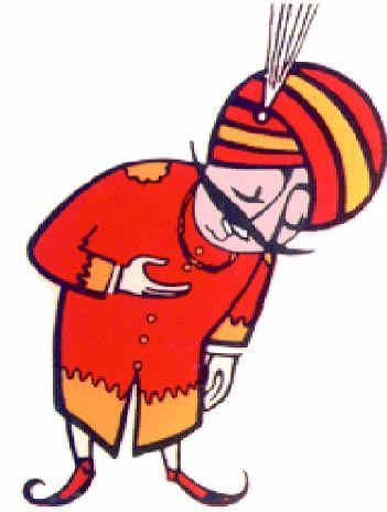 MAHARAJA Air India logo.