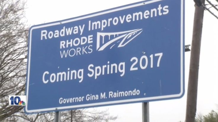 The Rhodeworks signs were touted by the Department of Transportation as a chance for the public to hold the state accountable for its highway construction projects.The signs tell the cost and schedule of construction jobs.But critics say they are self-serv