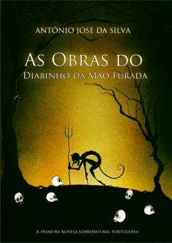 """Capa do livro """"As Obras do Diabinho da Mão Furada"""" de António José Silva."""