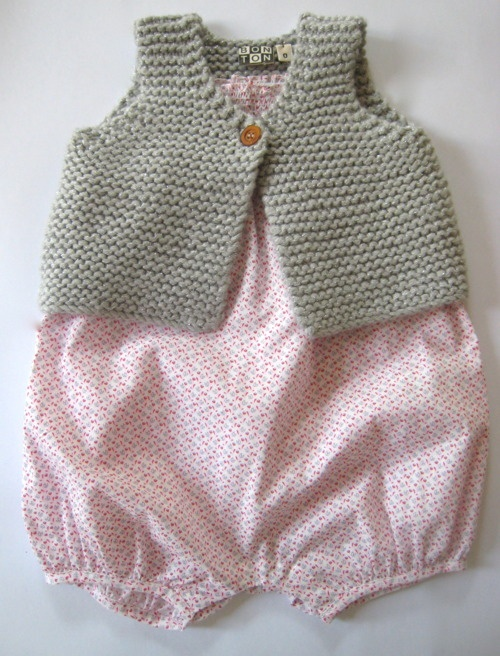 i need the pattern for this vest for kids and adults