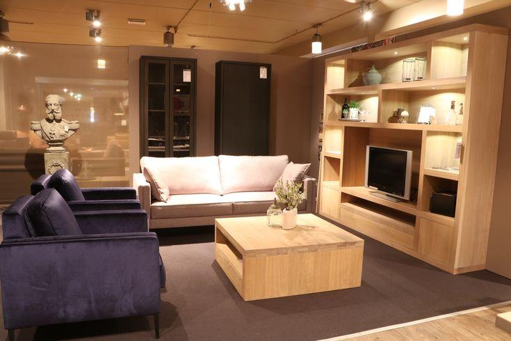 De Cuadro houten wandmeubel geeft je huiskamer direct stijl