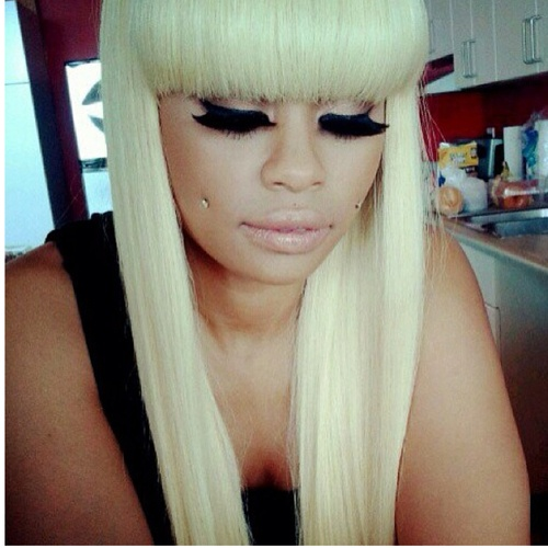 blac chyna---this a bad chick