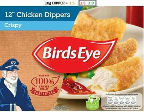 Birds eye chicken dippers