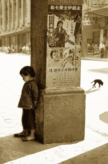 Deux solitudes peuvent faire une belle paire d'amis... / By Fan Ho.