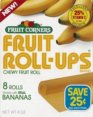 Classic Fruit Roll-Up flavors include strawberry and raspberry, but in ...