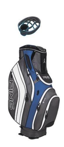 Karsten Ping Golf 2013 Pioneer Cart Bag Electric Blue Charcoal White | eBay - $159.98 Free Shipping