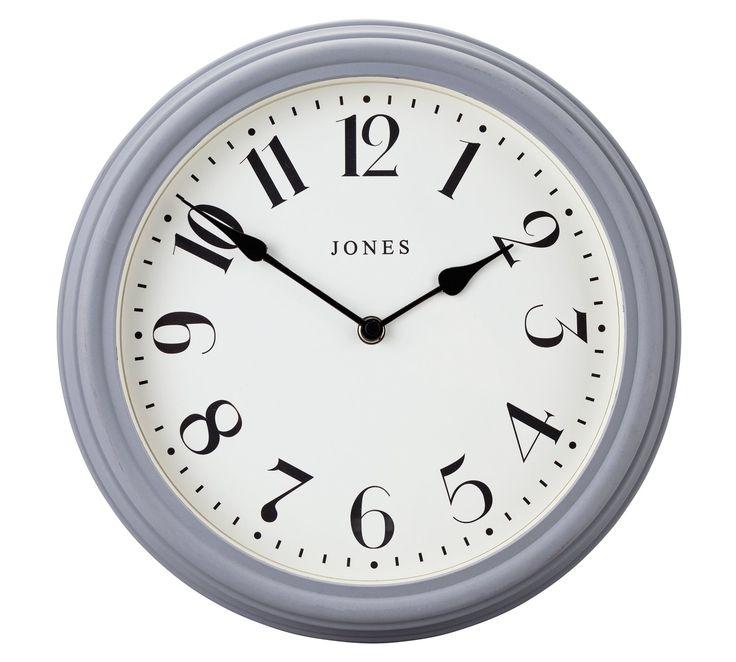 Buy Jones Venetian Wall Clock - Grey - Argos.co.uk