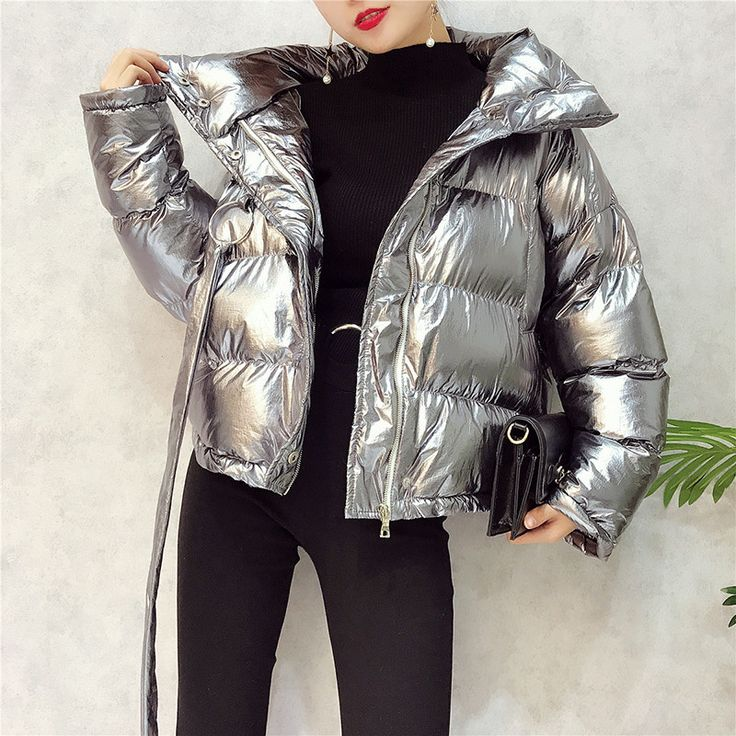 #aliexpress, #fashion, #outfit, #apparel, #shoes #aliexpress, #Metal, #colour, #Women, #winter, #jackets, #Short, #Silver, #reflect, #light, #bread, #style, #ladies, #parka, #thicken