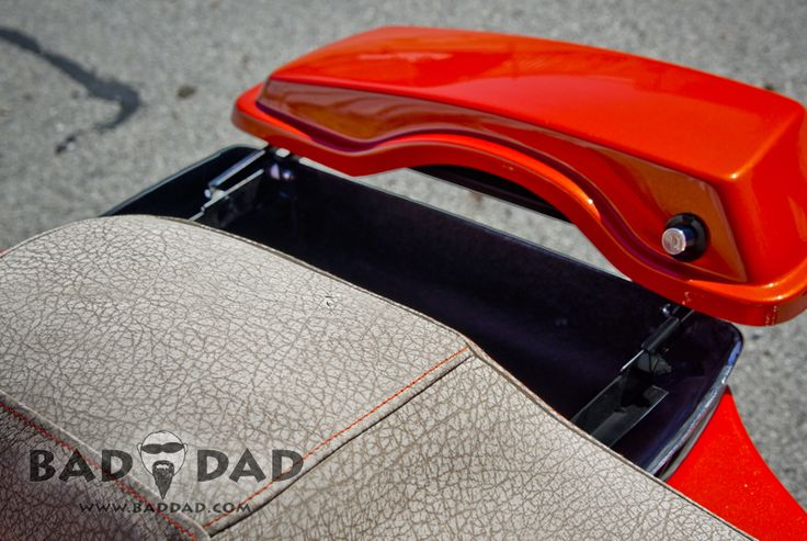 Bad Dad | Custom Bagger Parts for Your Bagger | Shaved Saddlebags