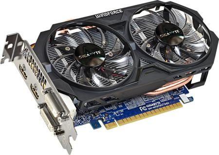 Gigabyte GeForce GTX 750Ti 1033MHz PCI-E 3.0 2048Mb 5400Mhz 128 bit 2xDVI 2xHDMI HDCP  — 9190 руб. —