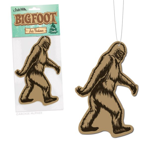 Pine-Scented Bigfoot Air Freshener