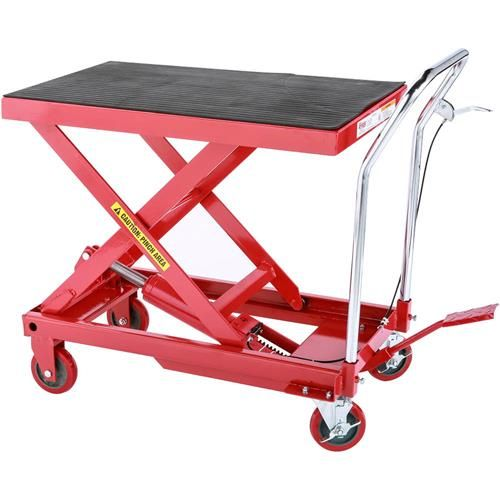 Hydraulic Mobile Table Cart 600 Lbs Grizzly