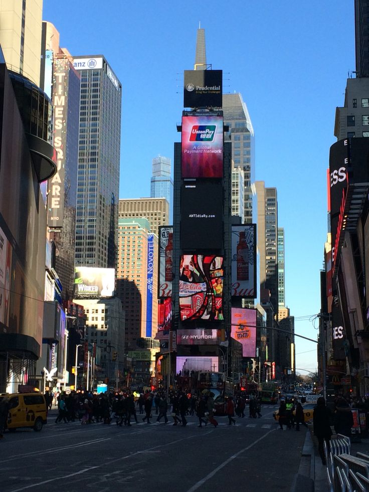 Times Square, New York City (2016)