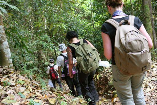 """Nơi lý tưởng để """"Trekking"""" Là nơi còn gần như vẹn nguyên vẻ đẹp của thiên nhiên, nhất là những cánh rừng rộng lớn - Lào là địa điểm lý tưởng cho những ai muốn thử thách bản thân và muốn lưu lại những trải nghiệm tuyệt vời nhất!"""