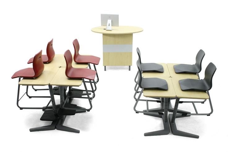 Opti+ Classroom Furniture by Vanerum Stelter