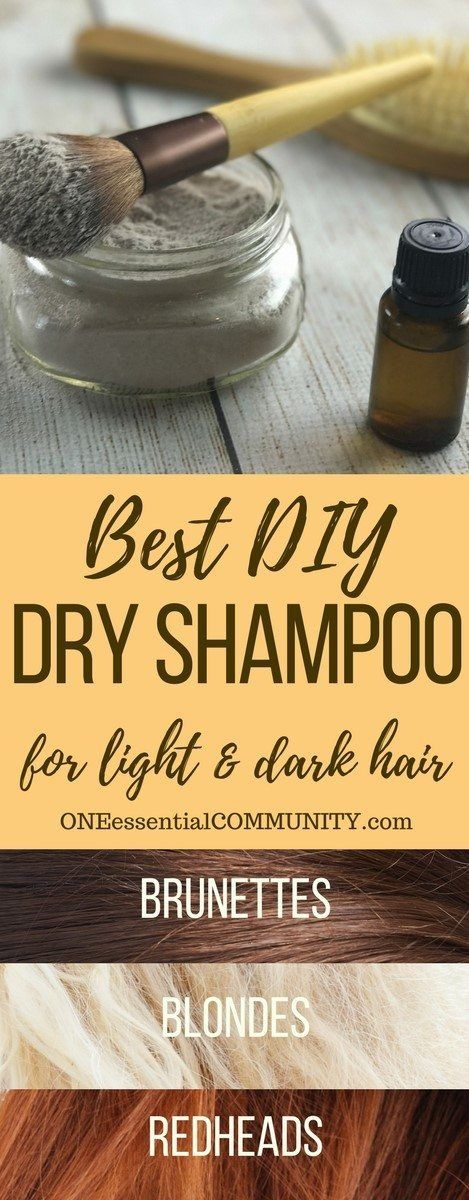 Dry shampoo recipe based on hair color -- adds volume to hair, gives instant lift to roots, & it smells amazing! customize for blondes, brunettes, & redheads. To order oils go to www.mydoterra.com/MLWC