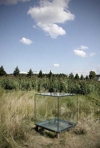 Eén kubieke meter stilte (2009) van Sarah van Sonsbeeck op SITE2F7. © Gert Jan van Rooij, Museum De Paviljoens
