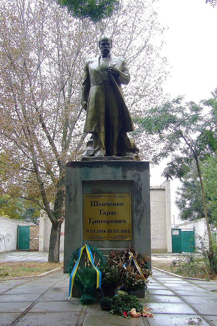на херсонщине разбили памятник шевченко фото больше устает