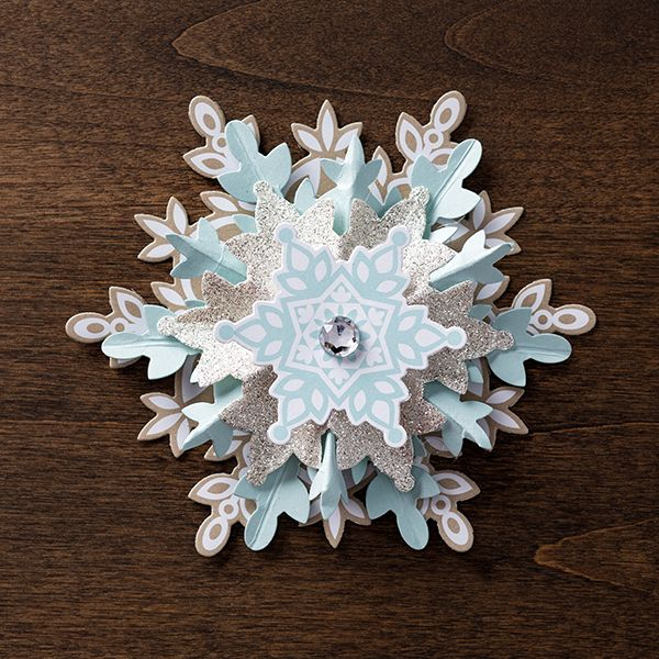 Add a little festive flare to your #holiday #decorating with our new Festive Flurry Ornament Kit!