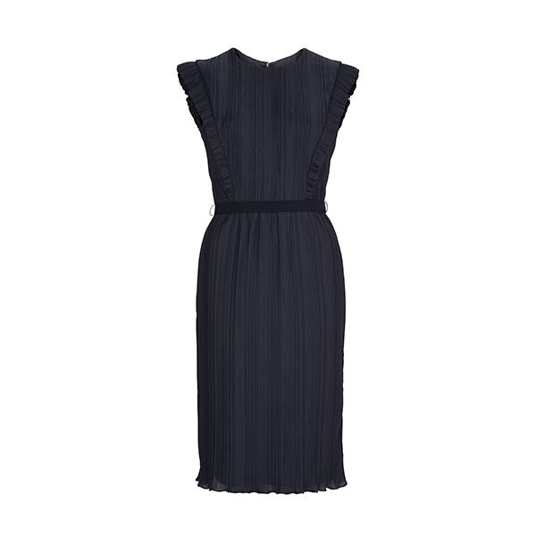 Naivy blue #Escada dress for special occasions just like Christmas. #DesignerOutletParndorf