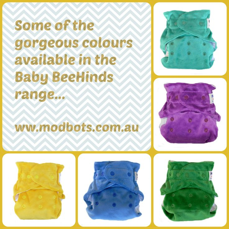 Luxuriously soft minky. Baby BeeHinds Magic-alls Multi-Fits. One of the most recognised and reliable Australian cloth nappy brands.