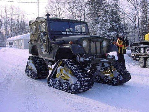 my kinda jeep, could have used this in elk camp this year!