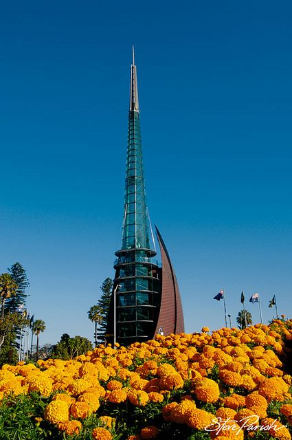 The Bell Tower, Perth, Western Australia by steveparish, via Flickr