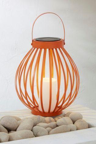 Solar Orange Lantern