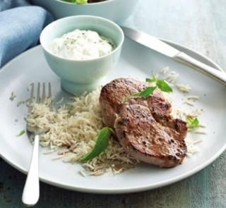 garlic lamb yoghurt mint sauce